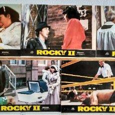 Cinéma: 5 FOTOCROMOS ORIGINALES - ROCKY II 2 - STALLONE. Lote 56490151