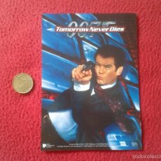 Cine: POSTAL POSTCARD FILM PELICULA TOMORROW NEVER DIES PIERCE BROSNAN 007 JAMES BOND UNITED ARTISTS VER F. Lote 56521673