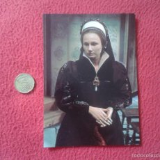 Cine: POSTAL POSTCARD ACTRIZ SERIE TV TELEVISION BBC THE SIX WIVES OF HENRY VIII ENRIQUE ANGELA PLEASENCE. Lote 56530109