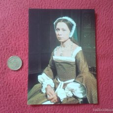 Cine: POSTAL POSTCARD ACTRIZ SERIE TV TELEVISION BBC THE SIX WIVES OF HENRY VIII ENRIQUE ANNE STALLYBRASS. Lote 56530154