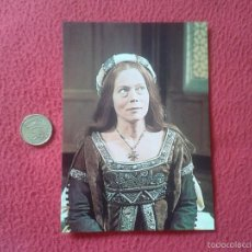 Cine: POSTAL POSTCARD ACTRIZ SERIE TV TELEVISION BBC THE SIX WIVES OF HENRY VIII ENRIQUE ANNETE CROSBIE. Lote 56530226