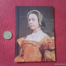 Cine: POSTAL POSTCARD ACTRIZ SERIE TV TELEVISION BBC THE SIX WIVES OF HENRY VIII ENRIQUE DOROTHY TUTIN VER. Lote 56530353