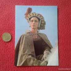 Cine: POSTAL POSTCARD ACTRIZ SERIE TV TELEVISION BBC THE SIX WIVES OF HENRY VIII ENRIQUE ROSALIE CRUTCHLEY. Lote 56530402