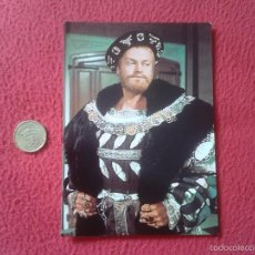 Cine: POSTAL POSTCARD ACTOR SERIE TV TELEVISION BBC THE SIX WIVES OF HENRY VIII ENRIQUE KEITH MICHELL VER . Lote 56530526