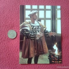 Cine: POSTAL POSTCARD ACTOR SERIE TV TELEVISION BBC THE SIX WIVES OF HENRY VIII ENRIQUE KEITH MICHELL VER . Lote 56530571