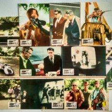 Cine: SET COMPLETO 12 FOTOCROMOS - ACCION EJECUTIVA - ASESINATO KENNEDY -. Lote 56612821