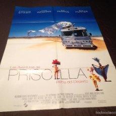Cine: LOTE LAS AVENTURAS DE PRISCILLA REINA DEL DESIERTO PÓSTER + 12 FOTOCROMOS POLYGRAM 1994. Lote 56640162