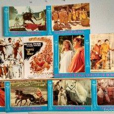 Cine: SET COMPLETO 12 FOTOCROMOS ORIGINALES - GOLFUS DE ROMA. Lote 56650469