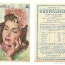 Cine: ANA MARISCAL, 1945, MUY RARA ESTAMPA PUBLICITARIA DE DENTICHLOR. Lote 56968122