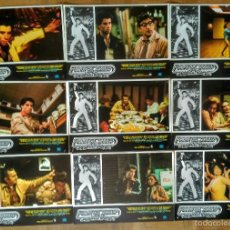 Cine: 9 FOTOCROMOS ORIGINALES - FIEBRE DEL SABADO NOCHE - JOHN TRAVOLTA. Lote 57130494