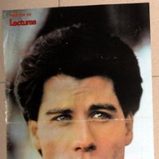 Cine: POSTER CINE JOHN TRAVOLTA. REVISTA LECTURAS. ANTIGUO VINTAGE. . Lote 57198643