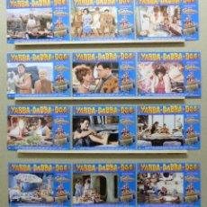 Cine: THE FLINSTONES, LOS PICAPIEDRA - JOHN GOODMAN, RICK MORANIS, HALLE BERRY, AÑO 1994, SET COMPLETO 12. Lote 220874837