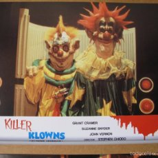 Cine: KILLER CLOWUS PAYASOS ASESINOS. Lote 206176341