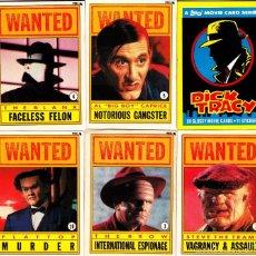 Cine: CROMO USA (TRADING CARD) DICK TRACY 40 TARJETAS Y 5 PEGATINAS NUEVAS, TOPPS 1990 ENVIO GRATIS!! CLC. Lote 57454902