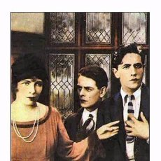 Cine: AFFICHE DU FILM - DOWNHILL (1927) - ALFRED HITCHCOCK - POSTCARD RP (53) - SIZE: 15X10 CM. APROX.. Lote 118363906