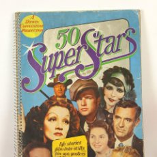 Cine: 7747 - 50 SUPER STARS. JOHN RUSSELL TAYLOR. PUBL. BOUNTY BOOKS. 1974.. Lote 57883729