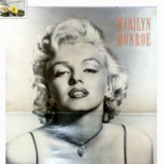 Cine: AÑO 1988. MARILYN MONROE, POSTER 64 X 42. ESTATE OF MARILYN MONROE REPRESENTED BY THE ROGER RICHMAN. Lote 30233514