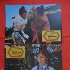 Cine: CAZA DESESPERADA, 12 FOTOCROMOS, WANG YU, FILMAX. Lote 58117338