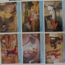 Cine: LOS ARISTOGATOS10 FOTOCROMOS ORIGINALES DEL ESTRENO DE LA PELICULA 34 X 24 CMS.. Lote 58144336