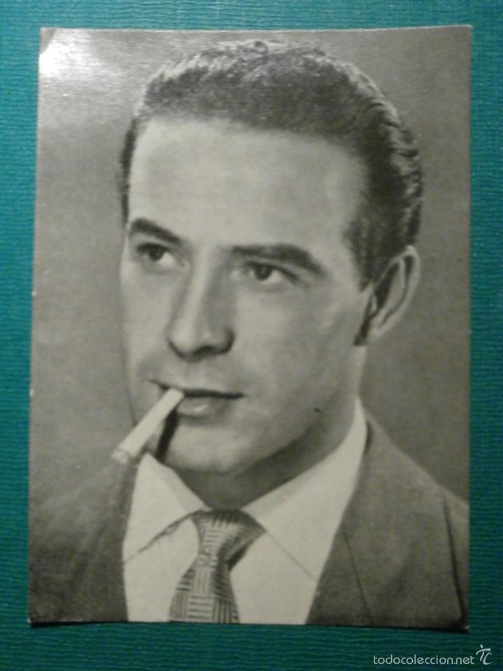 TARJETAS FLORITA - CONRADO SAN MARTIN - Nº 125 - (Cine - Fotos y Postales de Actores y Actrices)
