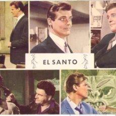 Cine: ROGER MOORE . EL SANTO . POSTAL. Lote 58565818