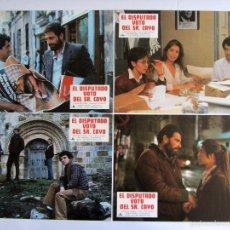 Cine: EL DISPUTADO VOTO DEL SEÑOR CAYO 12 FOTOCROMOS ORIGINALES DE LA PELICULA . 34 X 24 NUEVOS. Lote 58595755