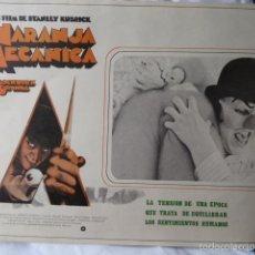 Cine: NARANJA MECANICA LOBBI CARD MEJICANO. Lote 58619478