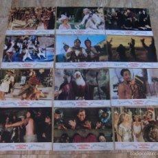 Cine: LA LOCA HISTORIA DEL MUNDO / MEL BROOKS /JUEGO COMPLETO 12 FOTOCROMOS ORIGINAL ESTRENO. Lote 58749491