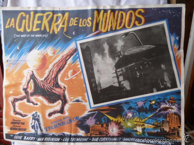 GERRA DE LOS MUNDOS -LOBICARD MEJICANO- (Cine - Fotos, Fotocromos y Postales de Películas)