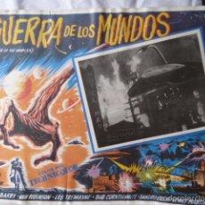 Cine: GERRA DE LOS MUNDOS -LOBICARD MEJICANO-. Lote 59083220