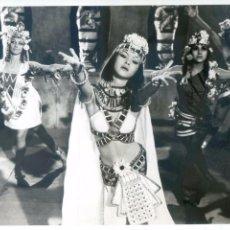 Cine: MARISOL COREOGRAFÍA EGIPCIA DE CAROLA DE DÍA, CAROLA DE NOCHE FOTO DE ARCHIVO GRÁFICO 18X24 PRECIOSA. Lote 59165935