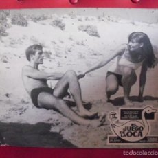 Cine: EL JUEGO DE LA OCA. FOTOCROMO CARTÓN. SONIA BRUNO. MANUEL SUMMERS, 1966.. Lote 59544747