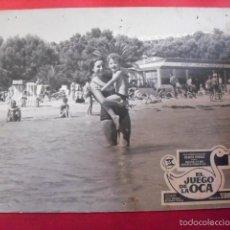 Cine: EL JUEGO DE LA OCA. FOTOCROMO CARTÓN. MARÍA MASSIP. MANUEL SUMMERS, 1966.. Lote 59544899