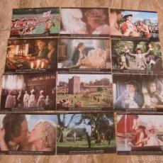 Cine: BARRY LYNDON / STANLEY KUBRICK / /JUEGO COMPLETO 12 FOTOCROMOS ORIGINAL ESTRENO. Lote 59659207