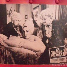 Cine: LA TERCERA PALABRA. FOTOCROMO CARTÓN. MARGA LÓPEZ,PEDRO INFANTE,SARA GARCIA,PRUDENC... SOLER, 1956.. Lote 59671695