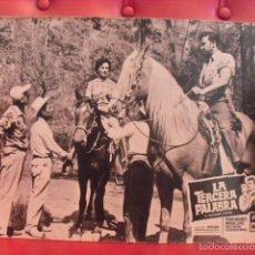 Cine: LA TERCERA PALABRA. FOTOCROMO CARTÓN. MARGA LÓPEZ, PEDRO INFANTE. JULIAN SOLER, 1956.. Lote 59671767