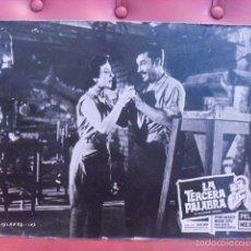 Cine: LA TERCERA PALABRA. FOTOCROMO CARTÓN. MARGA LÓPEZ, PEDRO INFANTE. JULIAN SOLER, 1956. PELI MEX.. Lote 59671891