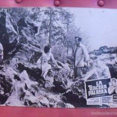 Cine: LA TERCERA PALABRA. FOTOCROMO CARTÓN. MARGA LÓPEZ, PEDRO INFANTE. JULIAN SOLER, 1956. PELI MEX.. Lote 59671947