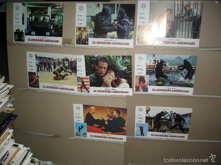 EL GUERRERO AMERICANO MICHAEL DUDIKOFF 11 FOTOCROMOS ORIGINALES B2 (721) (Cine - Fotos, Fotocromos y Postales de Películas)