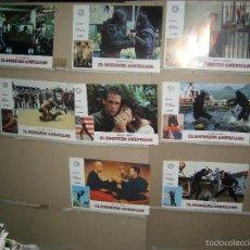 Cine: EL GUERRERO AMERICANO MICHAEL DUDIKOFF 11 FOTOCROMOS ORIGINALES B2 (721). Lote 59787452