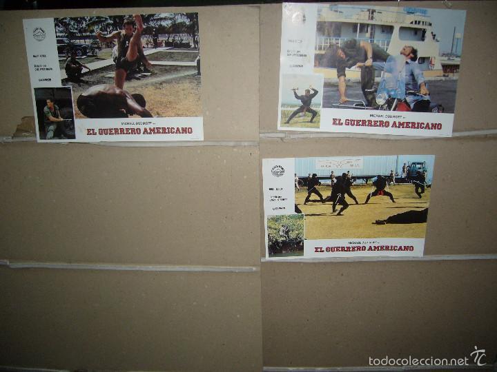 Cine: EL GUERRERO AMERICANO MICHAEL DUDIKOFF 11 FOTOCROMOS ORIGINALES B2 (721) - Foto 2 - 59787452