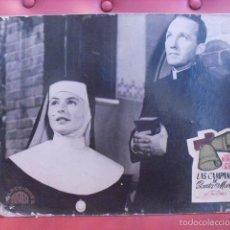 Cine: LAS CAMPANAS DE SANTA MARÍA. FOTOCROMO CARTÓN. INGRID BERGMAN, BING CROSBY. LEO MC CAREY, 1945. . Lote 59787560