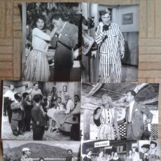 Cine: LAS MUCHACHAS DE AZUL. 16 FOTOS. FERNANDO FERNÁN-GÓMEZ, ANALÍA GADÉ, LICIA CALDERÓN, TONY LEBLANC. Lote 60273555