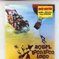 Cinema: NICK CARTER EN AQUEL LOCO LOCO LOCO DETECTIVE 11 FOTOPOSTALES 24X34 EN PERFECTO ESTADO. Lote 60340839