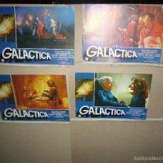 Cine: GALACTICA 4 FOTOCROMOS ORIGINALES Q. Lote 60461527