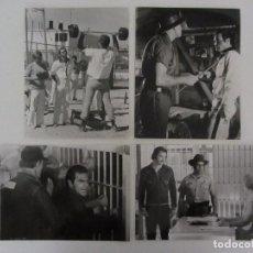 Cine: ROMPEHUESOS 7 FOTOCROMOS ORIGINALES DE LA PELICULA . 25,5 X 20,5 CMS. 1974 BURT REYNOLDS. Lote 61399847