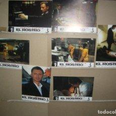 Cine: EL ROSTRO 7 FOTOCROMOS ORIGINALES YY (1388). Lote 61401103