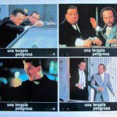 Cine: UNA TERAPIA PELIGROSA. 12 FOTOCROMOS ORIGINALES DE LA PELICULA 34 X 24 CMS. NUEVOS. Lote 61406679