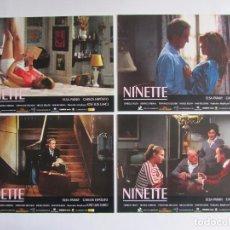Cine: NINETTE. 6 FOTOCROMOS ORIGINALES DE LA PELICULA 34 X 24 CMS. NUEVOS. Lote 61893988