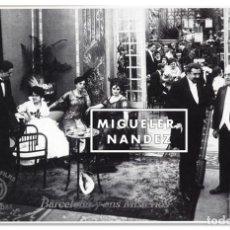Cine: EXCELENTE FOTOGRAFÍA DE LOS MISTERIOS DE BARCELONA, DIRIGIDA POR ALBERTO MARRO EN 1915. Lote 62056792